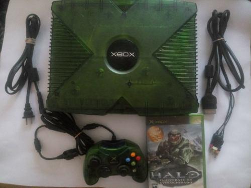Xbox clasico edicion halo mas de 300 juegos