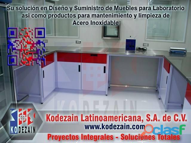 Limpieza y mantenimiento del acero inoxidable, mobiliario para laboratorio, sparkling