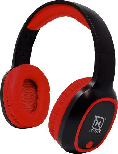 Audifono diadema manos libres bluetooth fm nbh-04pro necnon