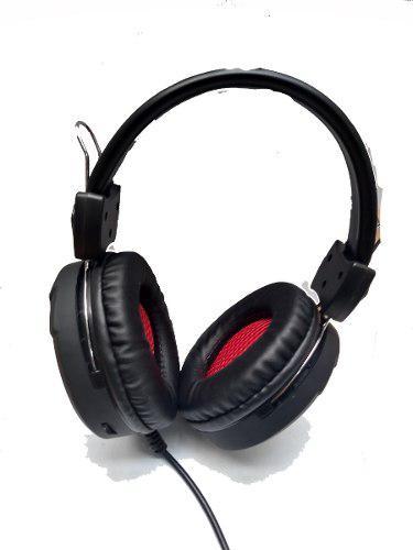 Audifonos diadema gamer microfono led 3.5mm promocion