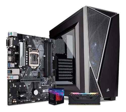 Computadora pc cpu gamer intel core i7 8700 8gb 1tb tuf 80+