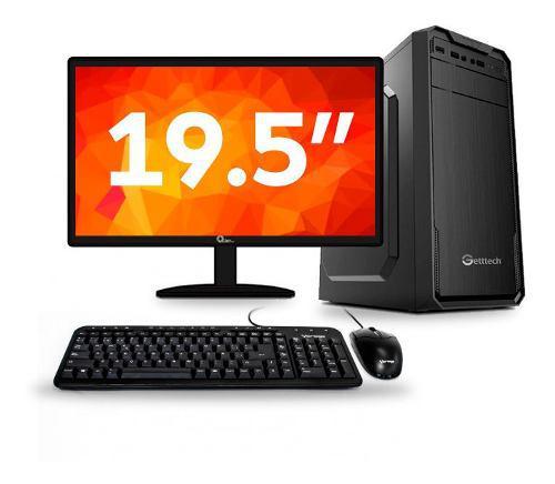 Computadora pc de escritorio dual core 8gb 1tb 19.5 wifi
