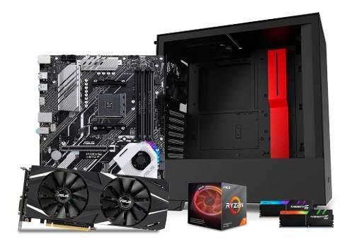 Computadora pc gamer rtx 2060 ryzen 7 ssd 120 hdd 1tb 16gb