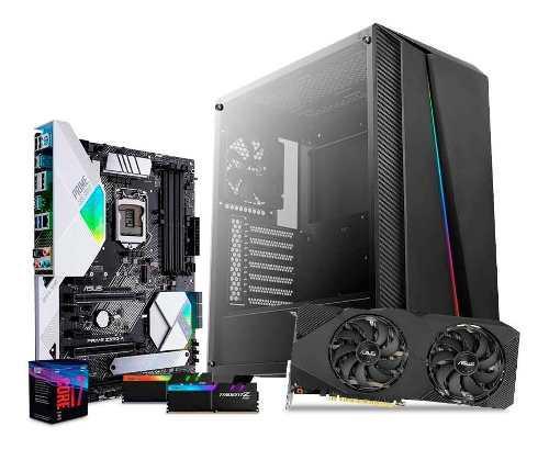 Computadora pc gamer rtx 2060s 8gb i7 1tb ssd 120gb 16gb rog