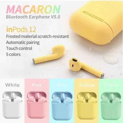 Inpods 12 tws audifonos bluetooth iphone airpods manos libre