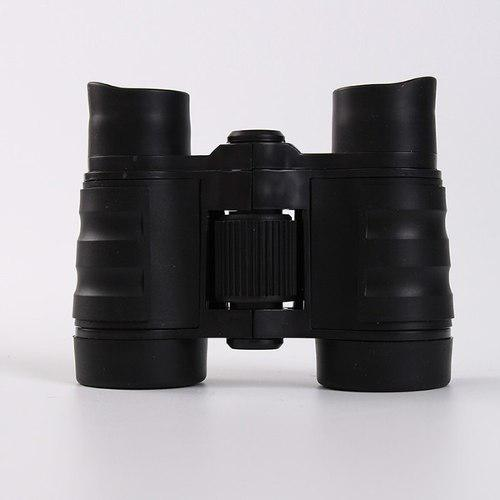 Negro mini niños prismáticos 4 x 30 de goma de aumento tel