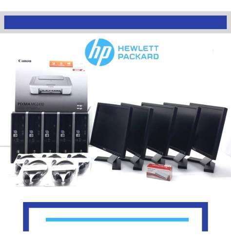 Paquete ciber 5 core duo 4gb 250 hdd monitor de 19 *regalos