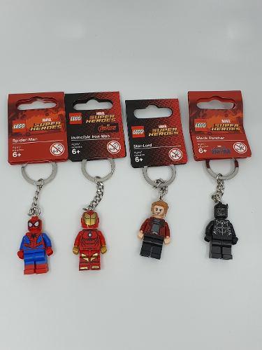 Llaveros lego star wars dc marvel ninjago bloques originales