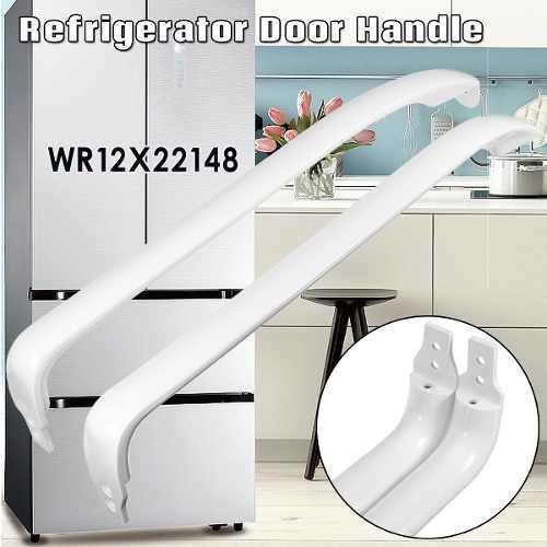 Manija de la puerta del refrigerador para general electric w