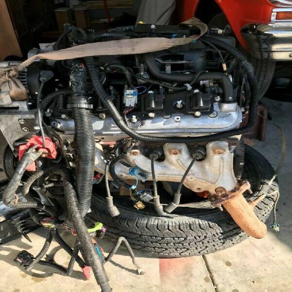 Motor chevrolet ls lq9 6.0 vortec