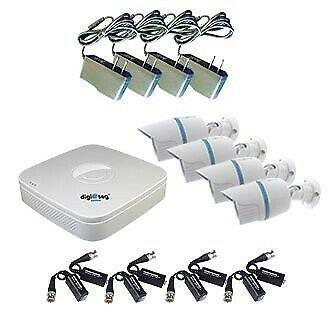 Paquete de 4 cámaras de seguridad y vigilancia puebla