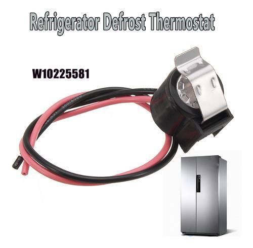 Refrigerador de descongelación termostato de reemplazo para