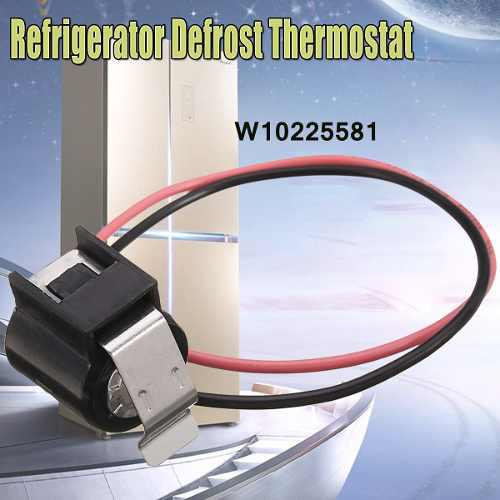 Refrigerador descongela el termostato bimetálico para