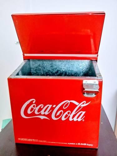 Refrigerador nevera de colección coca cola