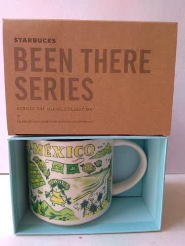 Taza starbucks city mug méxico país 14 oz been there