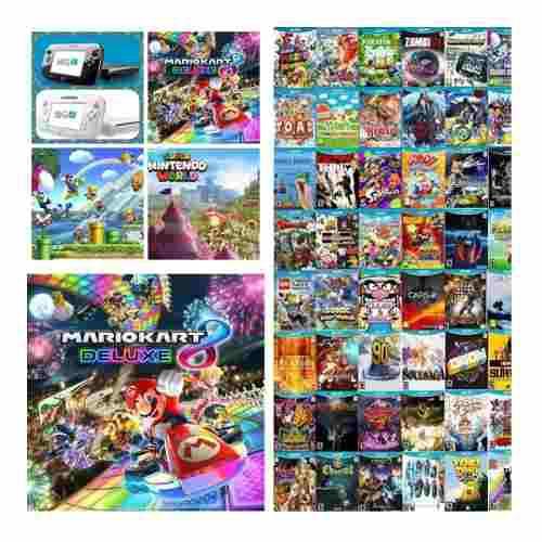 Wii u+2 wiimotes 350 juegos+5000 clásicos,wii,gamecube y