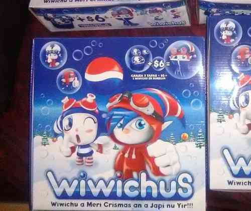 Wiwichus nuevos y sellado. colección completa.