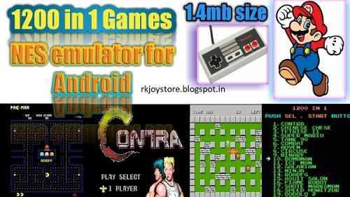 1200 juegos clasicos para android (nes)