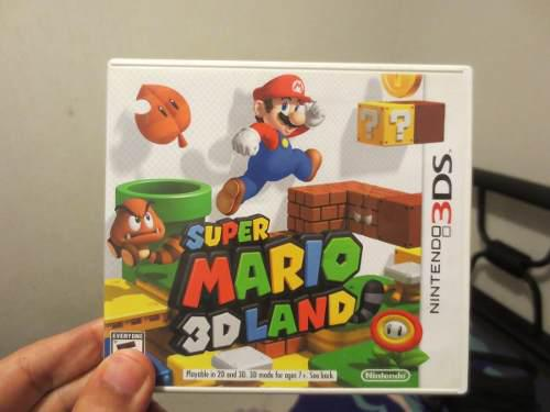 Juego super mario 3d land nintendo 3ds completo