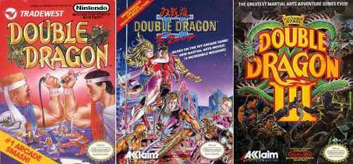 Juegos double dragon 1, 2 & 3 nes pc/android windows 7/10