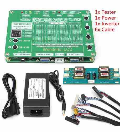 Led lcd panel tester tv/computadora/laptop kit de herramient