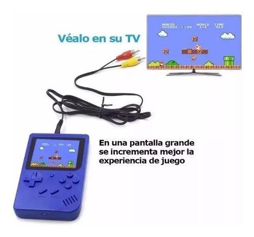 Mini consola de video juegos nes retro