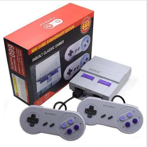 Nes retro nostalgico consola de juegos 660 modelos