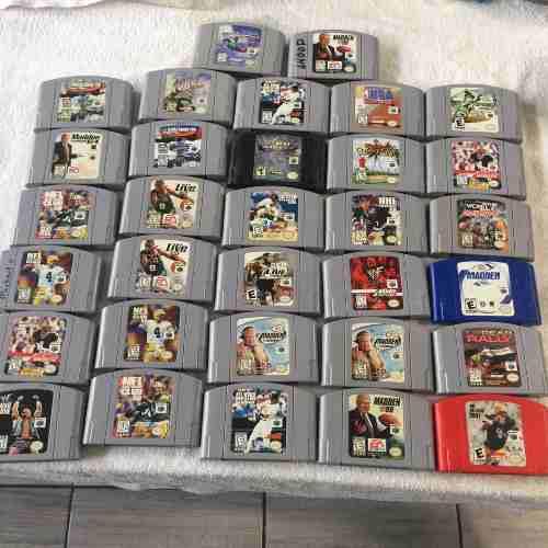 Nintendo 64 juegos originales