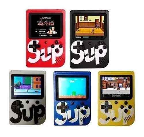 Sup game box consola portatil 400 juegos retro mario