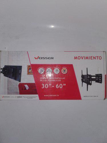 Weisser soporte para pantallas lcd,plasma y led de 30 a 60