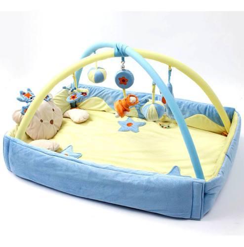 Bebé musical juego sensorial mat música y juguetes