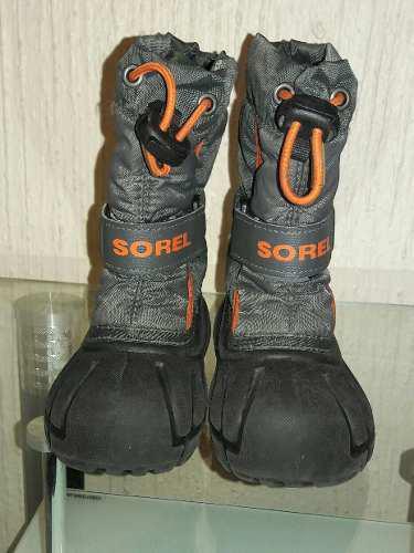Botas para nieve,frio o lluvia sorel t-13 cm