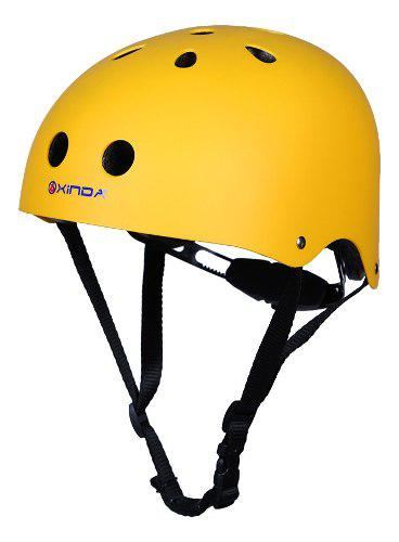 Casco protector para escalada segura con inserción de