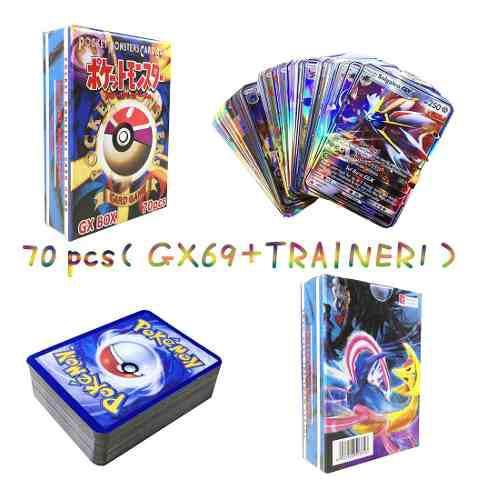 Juego cartas flash pokemon mega ultra ex 200 tarjetas gx