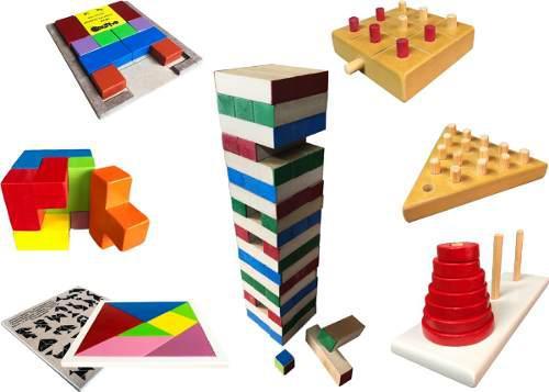 Kit de juegos destreza - material para niños