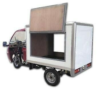Moto de carga caja seca