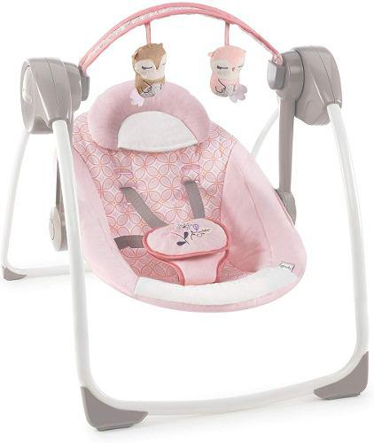Mecedora bouncer para bebés portátil ingenuity audrey