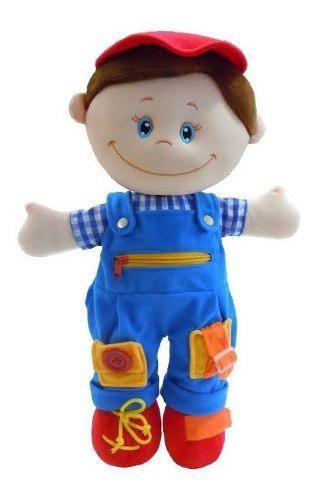 Muñeco para aprender a vestir lalo didáctico preescolar