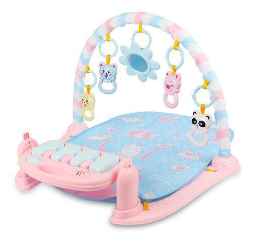 Niños estante de fitness juguetes de bebé piano música