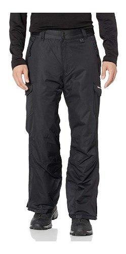 Pantalón hombre cargo aislante p/ nieve alpinismo vrs color