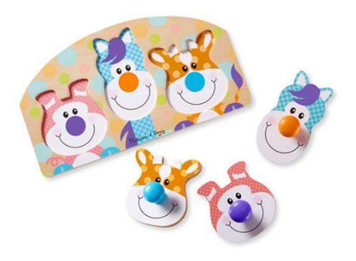 Rompecabezas con botones2 juguete didácticos melissa &