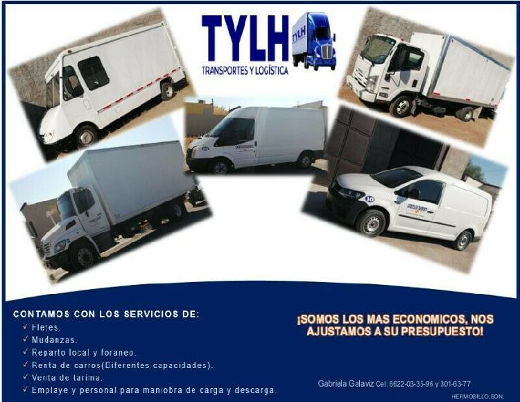 Servicios de transportación y logística