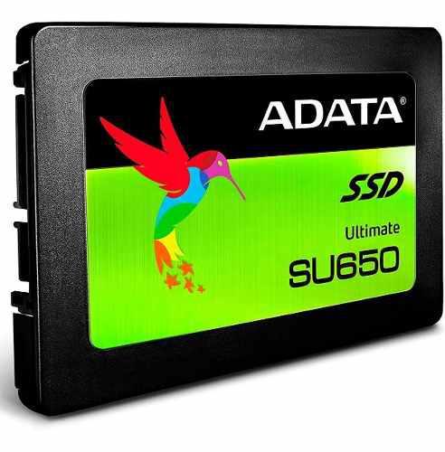 Ssd 480gb disco duro estado solido adata su650 laptop pc 2.5