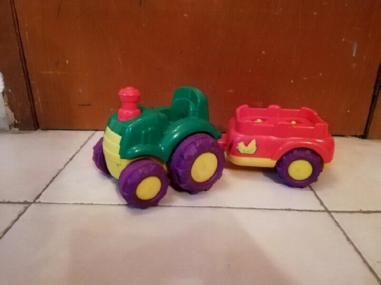 Tractor para muñecos fisher price little people para niños