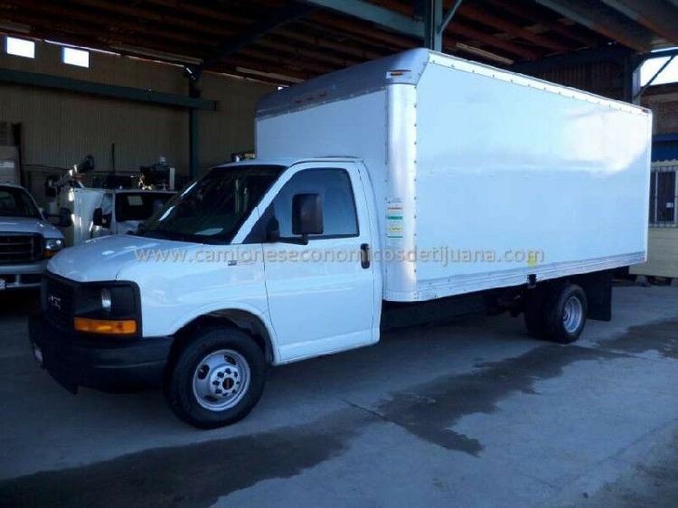 Camion 2008 gmc savana 3500 caja seca