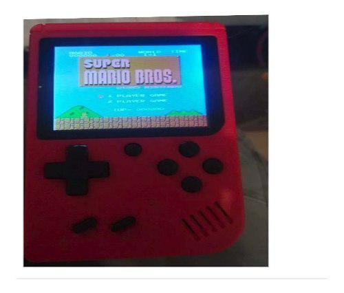Consola tipo gameboy 400 juegos nintendo retro