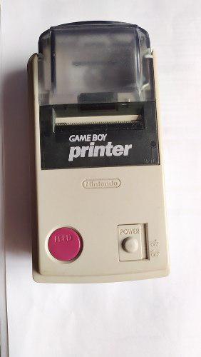 Game boy printer nintendo