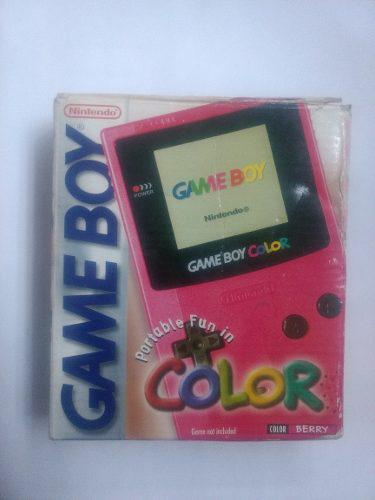 Gameboy color berry caja sin manual men in black nintendo