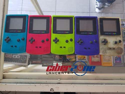 Gameboy color colores varios precio a tratar gamers zone ags