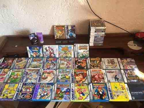 Nintendo Gameboy Advance Lote Completo Colección Caja